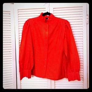 🎉$10 SALE🎉VTG Victorian pinstripe button down